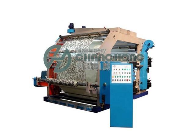 供应四色无纺布印刷机