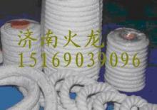 供应钢丝增强耐高温硅酸铝陶瓷纤维绳圆编绳方编绳硅酸铝绳