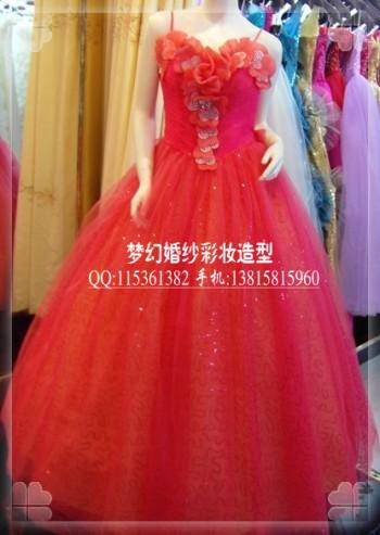 扬州新娘婚纱礼服_扬州婚纱礼服定制 打造精致新娘跟妆