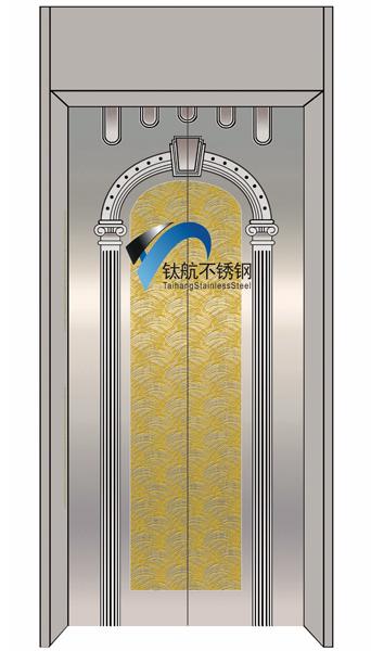 供应不锈钢镜面蚀刻钛金镜面蚀刻花纹电梯门