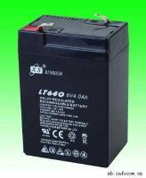 应急灯电池 6V4AH童车蓄电池/能代替6V4.5AH/6V5AH