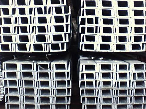 供应热镀锌槽钢63#、热镀锌角铁、热定型扁铁批发