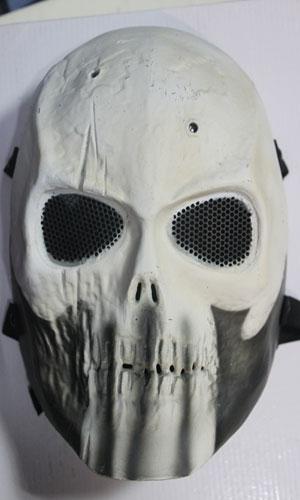 供应表演必用骷髅鬼面具厂家定做