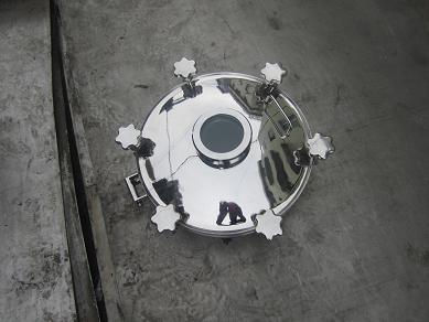 供应不锈钢法兰式视镜人孔盖批发