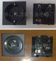 卡式欧式插座、卡式万能插座、卡式法式插座万能三极电源插座
