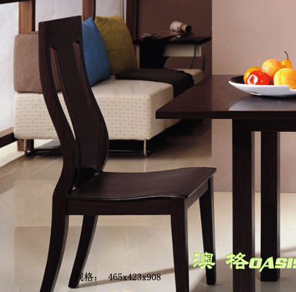 供应餐厅家具实木快餐椅-009图片