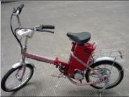 18寸折叠电动自行车图片
