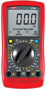 供应优利德数字万用表UT58A 电子档位提示 能测电容 全新正品