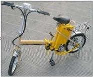 16寸18寸折叠自行车图片