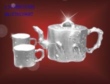 供应银制礼品茶具