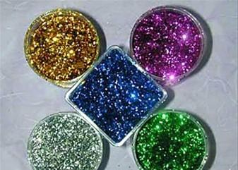 供应铝质金葱粉荧光金葱粉金葱粉亮片进口金银粉