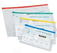 供应pvc文件袋/塑料袋拉链袋厂家