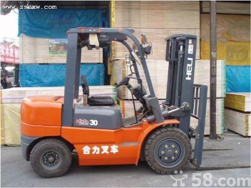 供应二手自用叉车一台3万6合力牌叉车3吨最低价叉车型号h2000批发