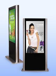 立式广告机图片
