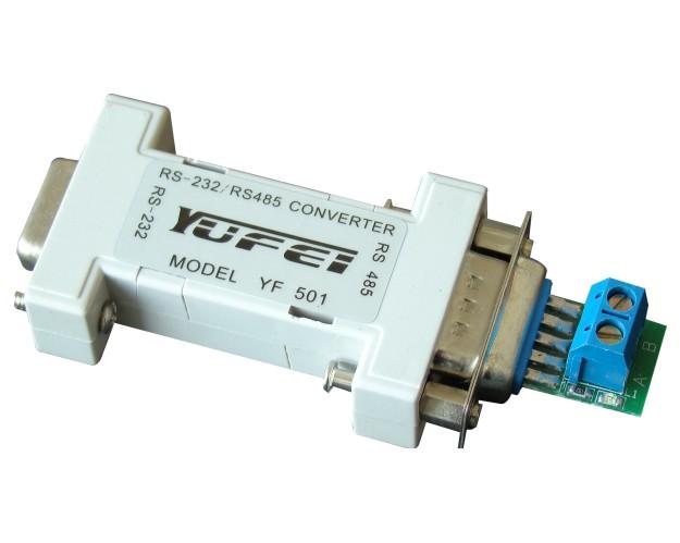 rs485两线串口接线图