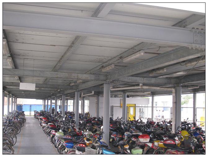 供应自行车棚设计苏州自行车棚