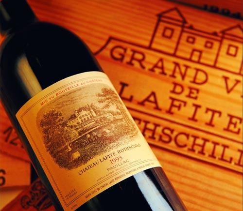 供应法国拉菲副牌葡萄酒2003批发