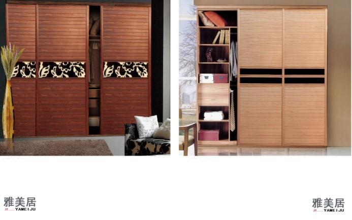 衣柜门/生态板系列/紫檀木长城板图片