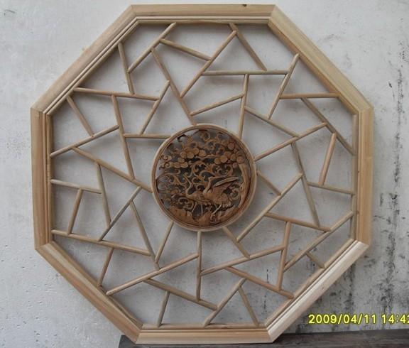 嵊州市古艺木雕装饰有限公司生产供应八角条子,乱冰