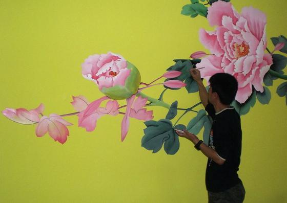 供应墙体绘画 墙体绘画壁画3d画涂鸦图片