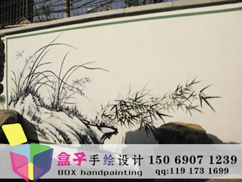 供应济南手绘墙/墙绘/文化墙