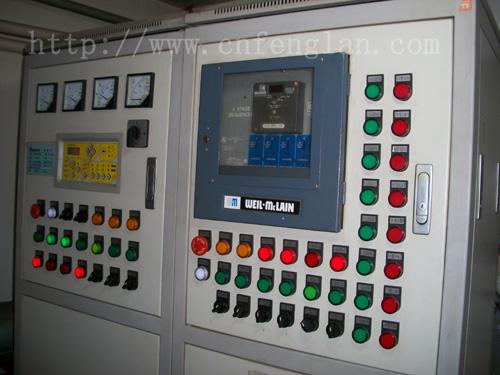 供应锅炉控制柜设备