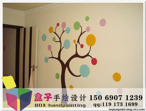 供应济南卧室墙绘设计欣赏6/墙绘价格
