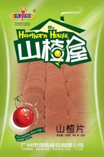 彩印山楂食品休闲袋F72图片
