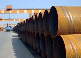 大口径供水螺旋钢管图片
