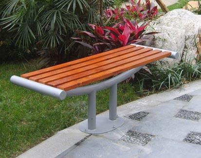 供应河南防腐木园林座椅