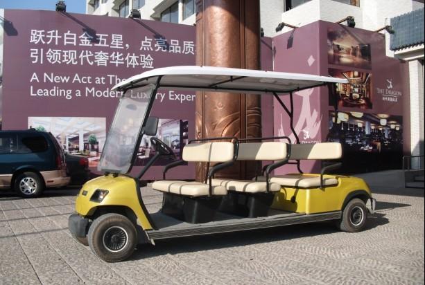 供应电动车观光车图片