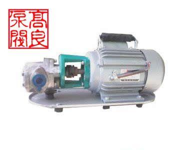供应WCB型齿轮油泵批发