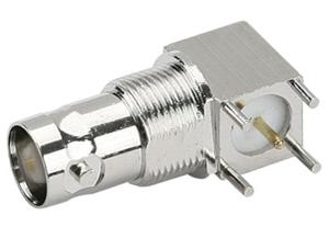 供应来特全铜KWEBNC母头视频母头90度纯铜线路板Q9母头插座批发