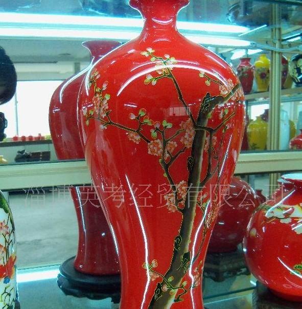 供应淄博陶瓷大花瓶