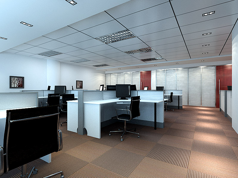 上海青浦厂房装修青浦办公室装修图片