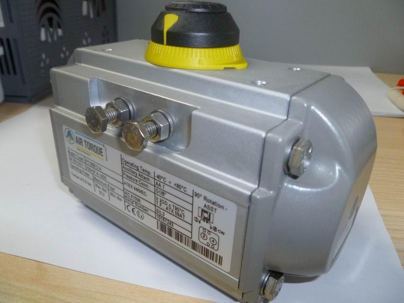气动执行器图片 气动执行器样板图 意大利双作用气动执行...