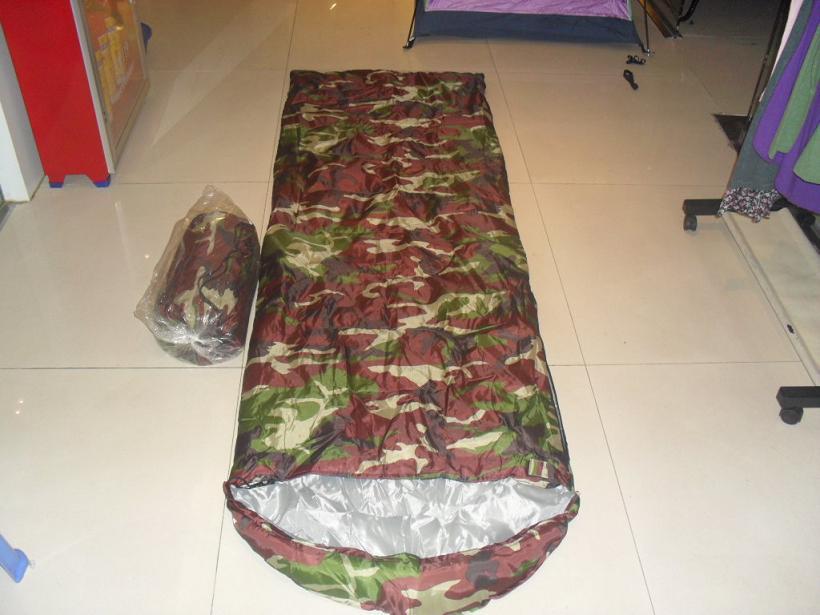 供应迷彩睡袋定做生产批发