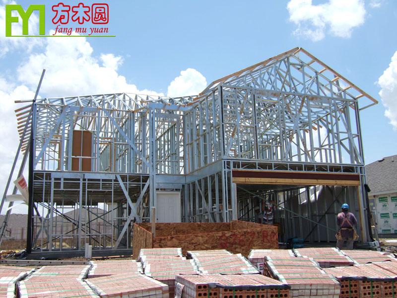 广东专业钢结构别墅工程图片