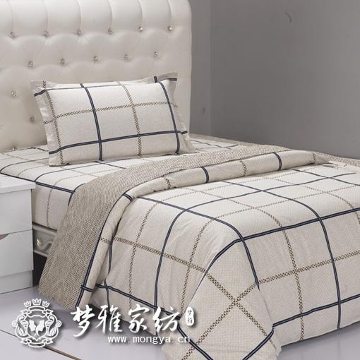 供应床上用品四件套员工宿舍床上用品