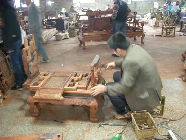 红木家具维修图片|红木家具维修样板图|红木家具维修