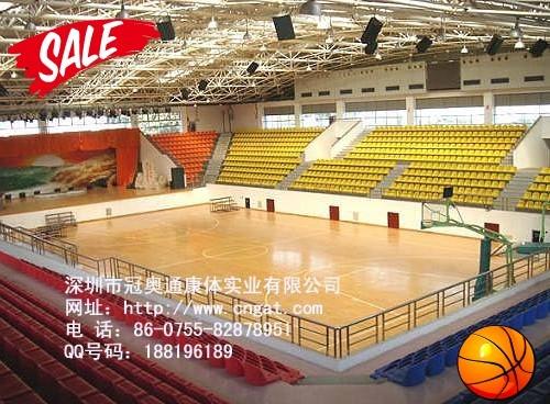 供应上海篮球场木地板图片