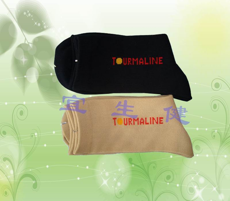 会销赠品供应托玛琳自发热保健袜 贴牌生产加工保健用品图片