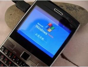 供应微软W72智能商务手机全键盘+触控手写+光电感应批发