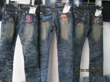 供应广州最低价格服装牛仔裤批发