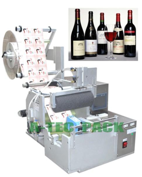 供应半自动红酒葡萄酒贴标机
