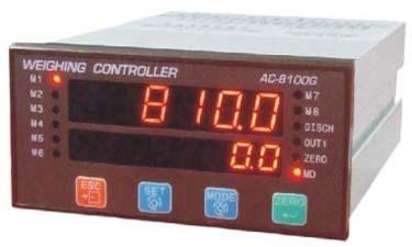 供应AC-8100G八种配料控制器/多钟配料控制器/称重显示器