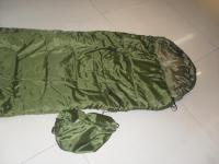供应军事野营单人睡袋
