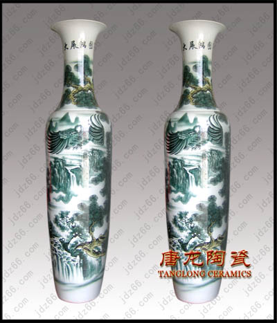 标签: 陶瓷大花瓶图片简述:陶瓷大花瓶,景德镇陶瓷大花瓶,花...