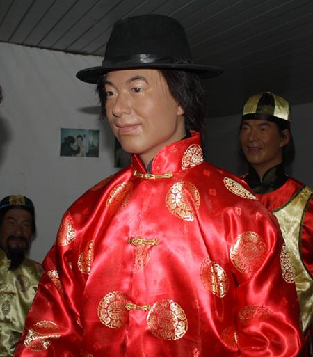 ...人物雕塑样板图 人物雕塑肖像雕塑蜡像图片 上海英雕蜡像艺术...