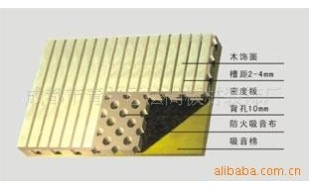 供应吸音板-厂家直供木质吸音板【成都法尚板材装饰厂】吸音板系列批发